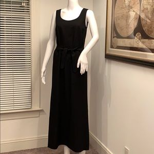 DONNA KAREN  SLEEVELESS MAXI WOOL DRESS SIZE 6